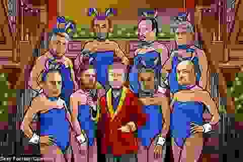 Hài hước bộ ảnh sexy của Ferguson, Wenger, Abramovich