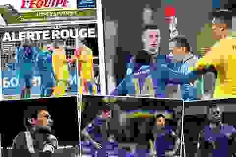 Báo giới Pháp chỉ trích thậm tệ sự bạc nhược của đội nhà