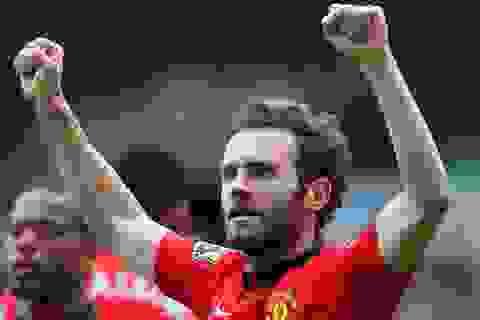 Moyes hết lời khen ngợi Juan Mata