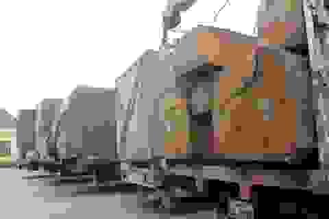 """Phạt đoàn xe chở gỗ """"khủng"""" hơn 100 triệu đồng"""