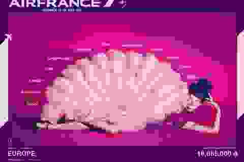 Du xuân châu Âu cùng Air France chỉ từ 16.665.000 VND