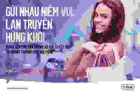Nhắn tin Viber, nhận vô vàn ưu đãi khủng
