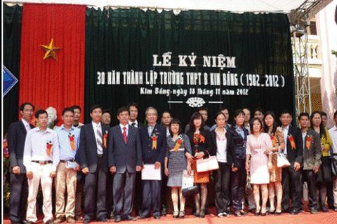Trường THPT B Kim Bảng: 30 năm truyền thống hiếu học.