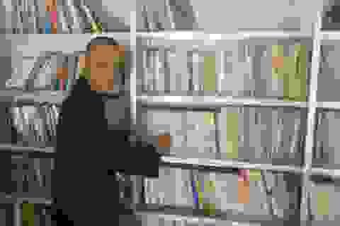 Thư viện sách nơi cửa Phật
