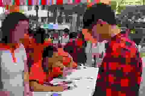 Trắc nghiệm chọn ngành nghề: Điểm nhấn của Ngày hội Tư vấn tuyển sinh