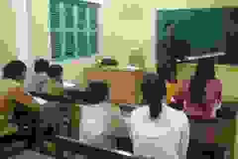 Mở lớp học xóa mù chữ cho độ tuổi từ 15 - 60