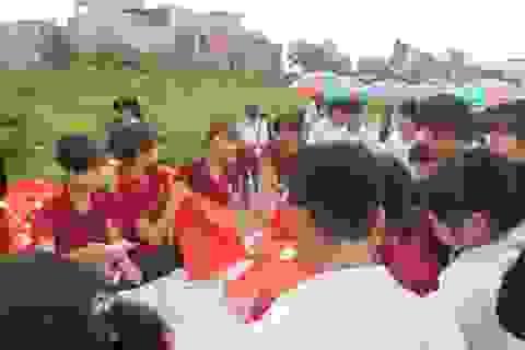 Trường ĐH Chu Văn An hỗ trợ ăn sáng cho thí sinh và phụ huynh