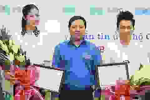 """Hoa hậu Ngọc Hân, ca sĩ Tùng Dương chung tay """"xây"""" nhà bán trú cho HS nghèo"""
