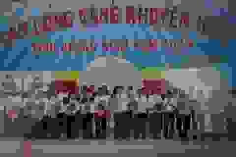 """Tổng kết cuộc vận động """"Tấm lòng vàng khuyến học"""" lần thứ III - 2013 tỉnh Quảng Ngãi"""