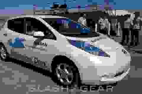 Xe tự lái của hãng Nissan bắt đầu được thử nghiệm thực tế