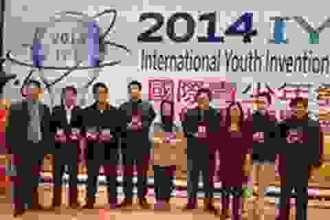 Việt Nam đạt giải lớn tại Triển lãm Sáng chế Thanh thiếu niên