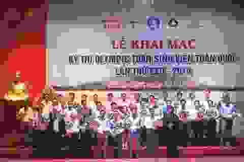 Gần 700 sinh viên dự thi Olympic Toán sinh viên toàn quốc