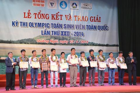 11 sinh viên Toán học ưu tú nhất Việt Nam năm 2014