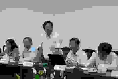 Kiểm tra 23 Ủy viên Ban Thường vụ Thành ủy Long Xuyên