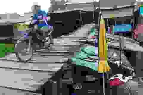 """Cận cảnh """"ngôi nhà""""... nguy hiểm nhất Việt Nam"""