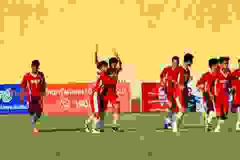 ĐKVĐ ra quân thắng lợi tại Giải bóng đá sinh viên 2012