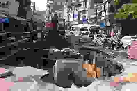Hà Nội: Tạm ngừng cấp nước quận Hai Bà Trưng do vỡ đường ống