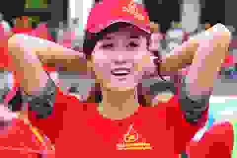 """Miss Teen Hà Lade """"khoe"""" đạt Á khoa ĐH Văn hóa HN"""