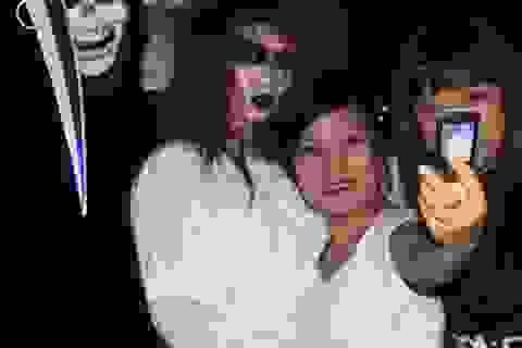 """""""Ma"""" SV thành Vinh nhảy hiphop cuồng nhiệt chào Halloween"""
