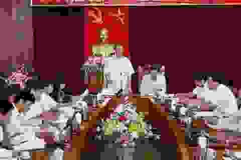 Đoàn kiểm tra của Bộ Chính trị làm việc tại Vĩnh Phúc