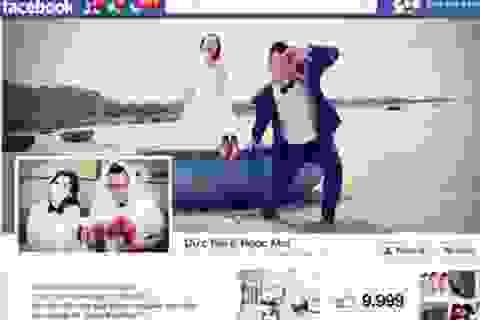 """Thiệp cưới """"độc"""" kiểu… facebook gây sốt dân mạng"""