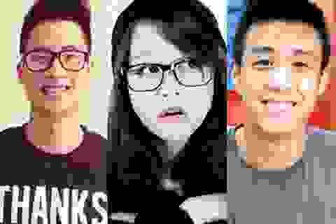 """5 vlogger """"hot"""" nhất giới trẻ năm 2013"""