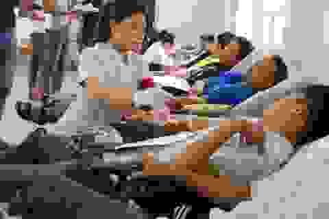 """Thanh niên Đà Nẵng hào hứng tham gia """"Ngày hội hiến máu nhân đạo"""""""