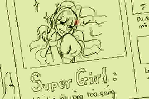 """Clip hoạt hình hài hước về cuộc tình hai """"siêu nhân"""""""