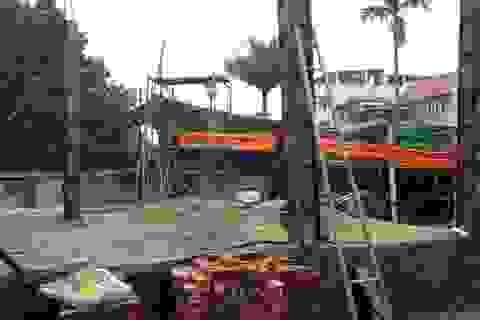 """Huyện Từ Liêm """"bất lực"""" nhìn công trình vi phạm ở xã Đông Ngạc thi công?"""