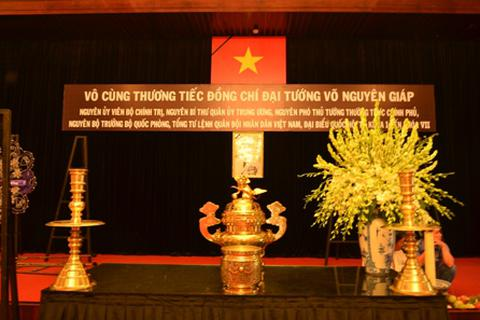 Hình ảnh TPHCM chuẩn bị Quốc tang Đại tướng