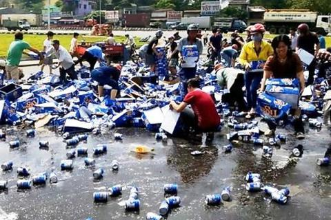 """Thực nghiệm hiện trường vụ """"hôi bia"""" tại Đồng Nai"""