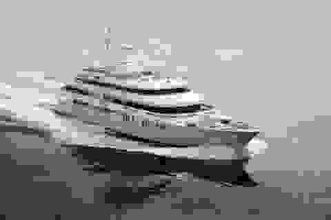 Độc đáo siêu du thuyền có đại sảnh cao 2 tầng, giá thuê 16 tỷ đồng/tuần