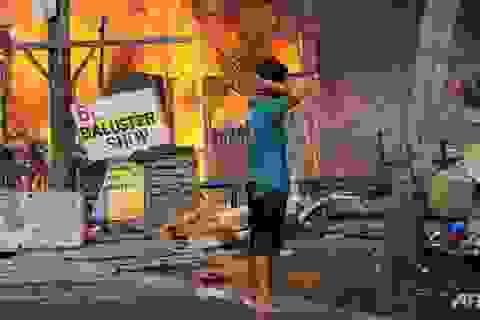 Philippines kêu gọi cứu trợ người dân vùng giao tranh với quân nổi dậy