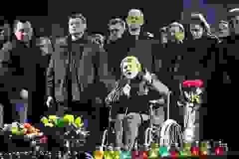 Bà Tymoshenko được thả, Tổng thống Yanukovych tìm cách rời Ukraine