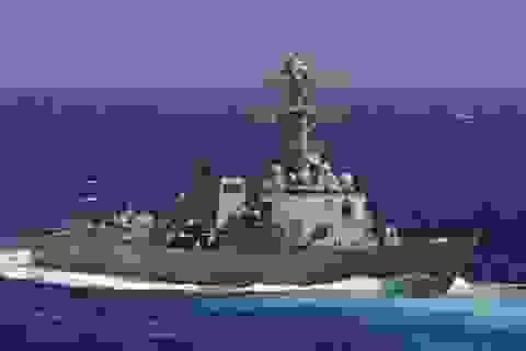 Mỹ ngừng điều tàu khu trục tìm máy bay mất tích