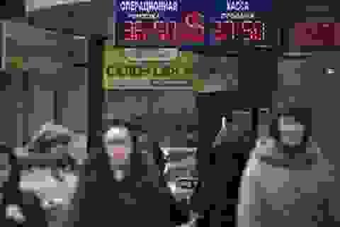 Bất ổn tại Ukraine quét 60 tỷ USD khỏi TTCK Nga trong một ngày