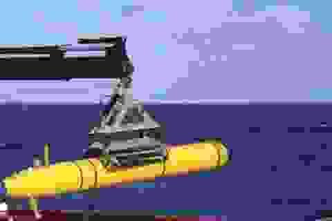 Tàu ngầm ngừng tìm MH370 giữa chừng vì biển sâu ngoài dự tính