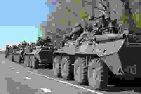 Ukraine xác nhận Nga đã rút quân khỏi biên giới