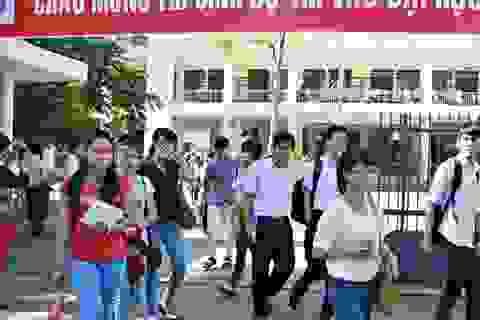 Kết thúc thi đại học đợt 1: 134 thí sinh, 7 giám thị bị xử lý kỷ luật
