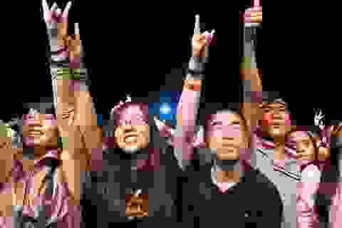 RockStorm cháy bỏng tan mưa đêm Đà Nẵng