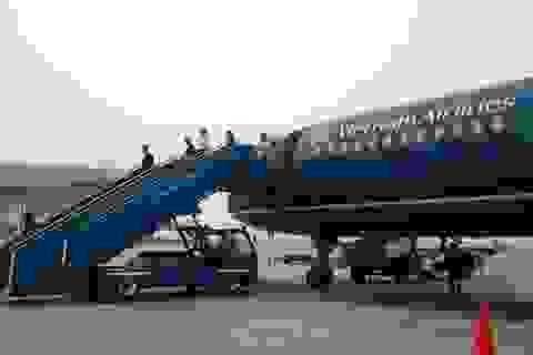 Hủy hàng loạt chuyến bay nội địa vì bão số 8