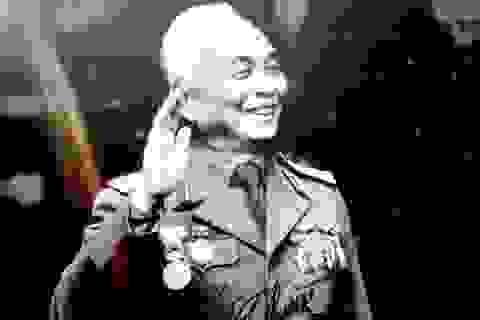 60 sĩ quan cấp tướng túc trực bên linh cữu Đại tướng Võ Nguyên Giáp