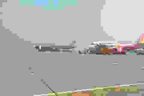 Chạy thử nghiệm xe ô tô điện trong sân bay Nội Bài