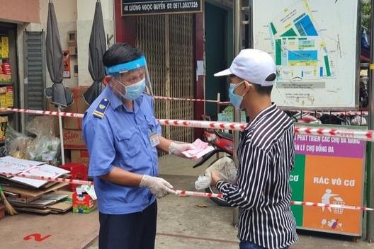 Đà Nẵng phát thẻ đi chợ theo ngày chẵn lẻ cho dân