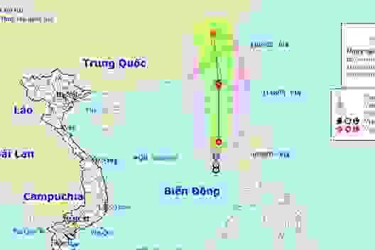 Áp thấp nhiệt đới trên Biển Đông có khả năng mạnh thành bão