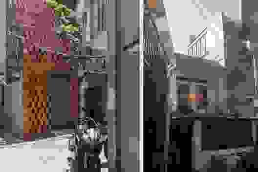 TP.HCM: Nhà hẻm phủ lớp gạch đất nung, mái ngói đỏ mang đậm nét quê Việt