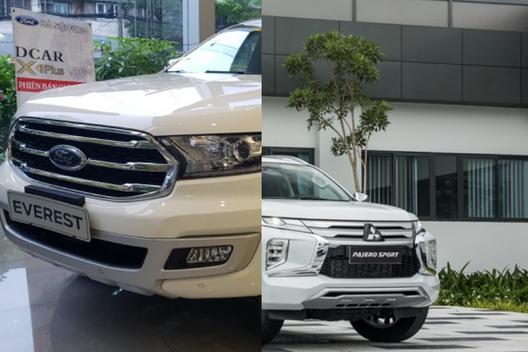 Giữa Ford Everest 2019 và Pajero Sport 2020, chọn mua xe nào?