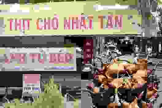 """""""Thủ phủ thịt chó"""" Nhật Tân – nơi khách ăn nhậu cả ngày lẫn đêm giờ ra sao?"""
