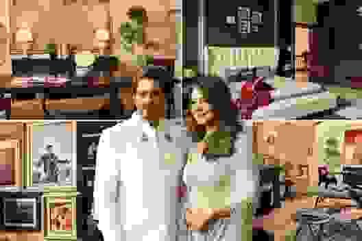 """Homestay """"có một không hai"""" tại nhà của cặp đôi siêu đẳng Bollywood"""