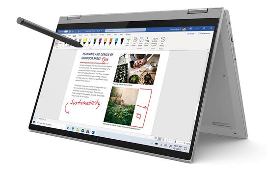 Cặp đôi Lenovo IdeaPad Flex 5i/5: Đa chế độ sử dụng cho sáng tạo thăng hoa